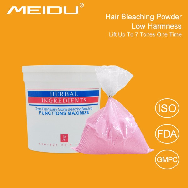 500g fragrant dust free hair color remove powder