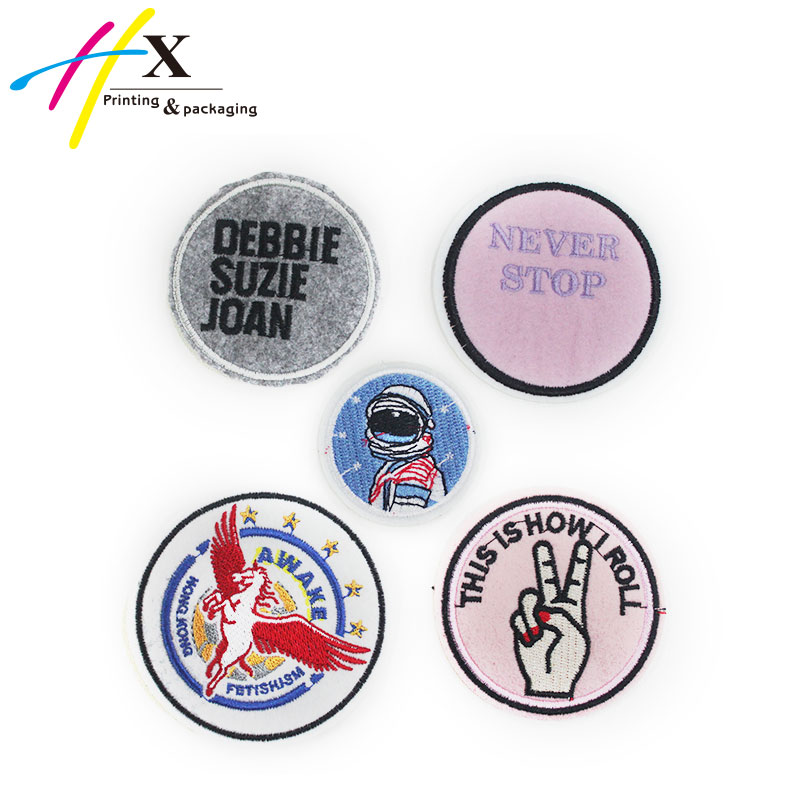 wholesale sew-on iron-on custom embroidered blazer crest patch Badge emblem