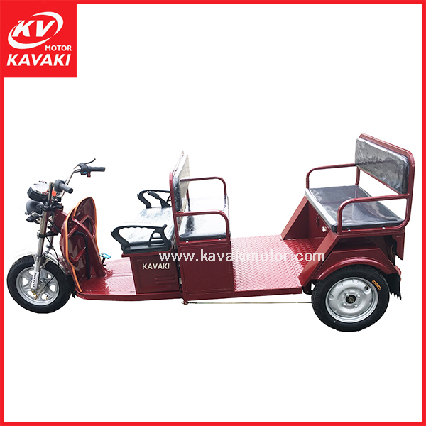 Popular model electric car low failure rate tour tricycle range 55km with roof