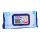 China manufacturer wholesale disposable flushable unscented organic baby wet wipes