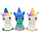2019 New Unicorn Pu Star Beauty Unicorn Pegasus Decompression Slow Rebound Toy wholesale gift toys