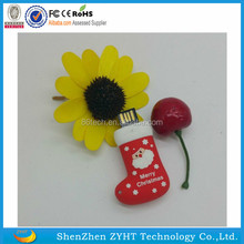 Wholesale promotional gift bulk 1GB/2GB/4GB/ 8GB/64GB/ 128GB christmas usb flash drive,christmas gift Santa Claus usb