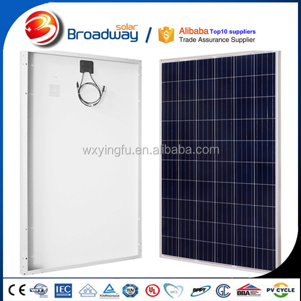 Hot sale sun power photovoltaic solar panel poly and mono 250w 260w 300w solar cell panel