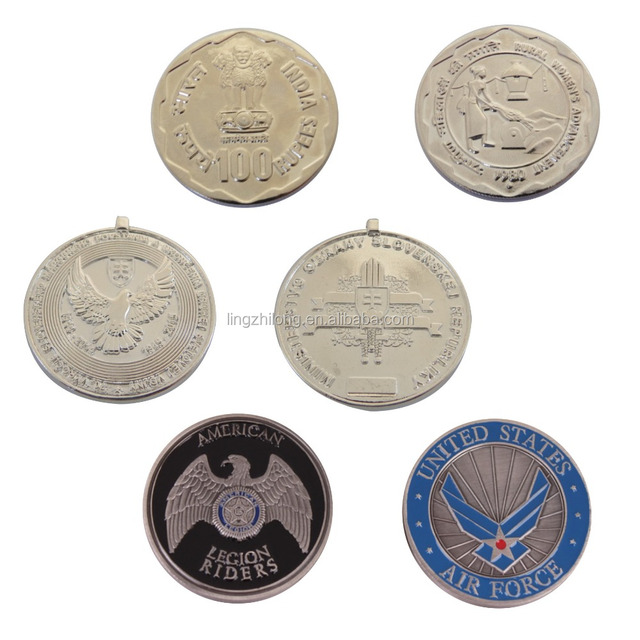 Custom Blank Silver Coins Old Indian Silver Coin Replica