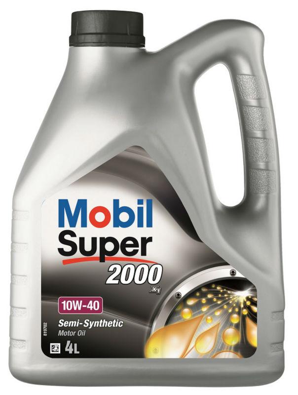 زيت محرك موبيل سوبر 2000 X1 10w 40 4 لتر Buy زيوت محركات شبه