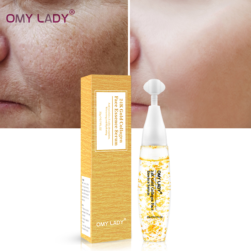 OMY DAME Populaire Hydrater 24 k or sérum marque privée