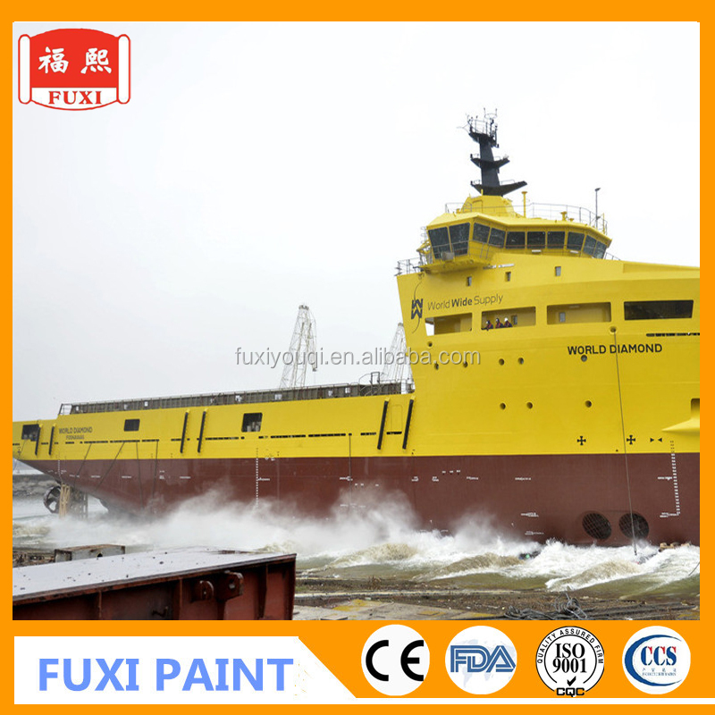 Marine underwater High-build Epoxy Glass Flake Anticorrosive Paint