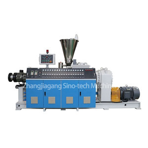 High Efficient Double Screw Extruder Equipment for PVC UPVC CPVC Pipe Production Line