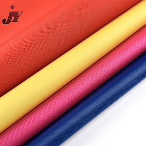 Hangzhou cheap textile materials 600D PU coated polyester waterproof fabric