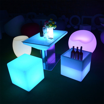 led party chairs wholesale outdoor led furniture set sectional sofas chair table  light base