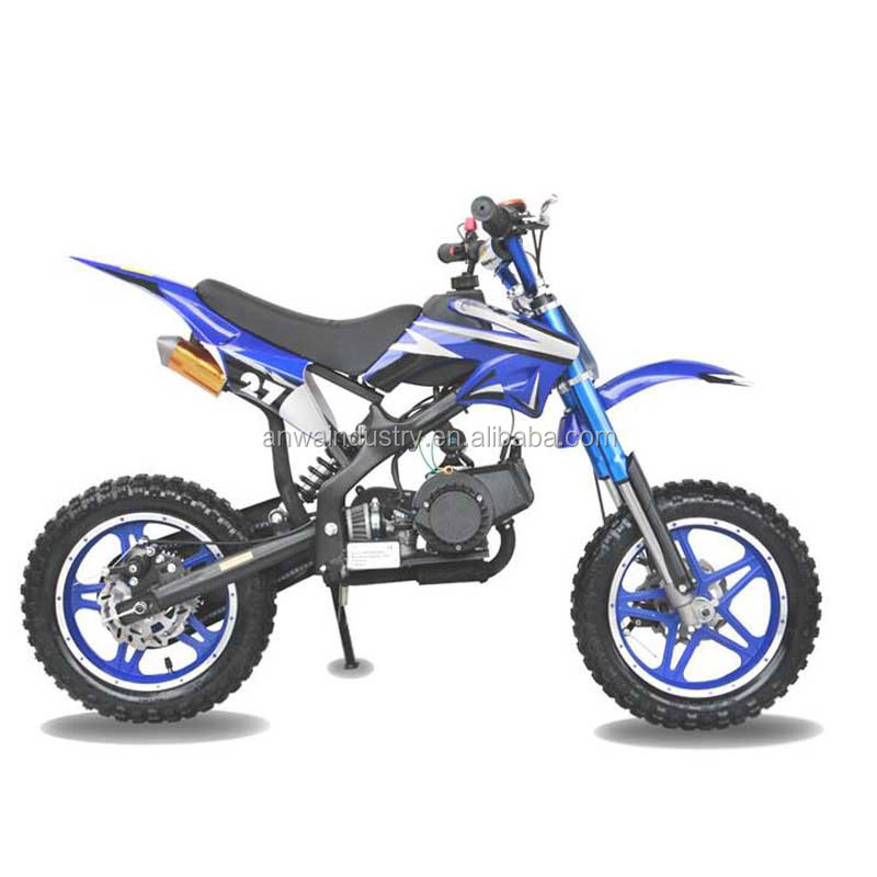 manufacture of racing dirt bike 50cc 2 Strokes Mini Dirt Bike electric/Gas Powered Mini Bike Baby Moto