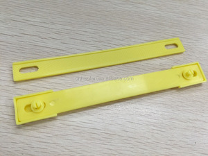 Adhesive plastic handle