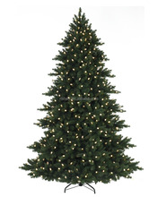 Outdoor Lighted Pvc Christmas Tree