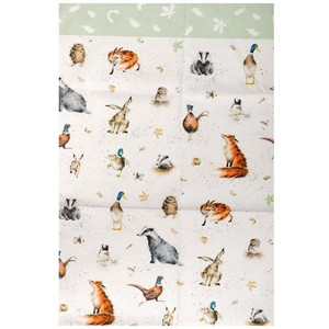 Non-Terry Cat Printed Kitchen Towels Cotton 100% Towel Fabric With Animals