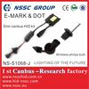 2014 new arrival world debut xenon canbus kit with h7 h4 wireless bulb All-round CANBUS ballast with E-MARK & DOT