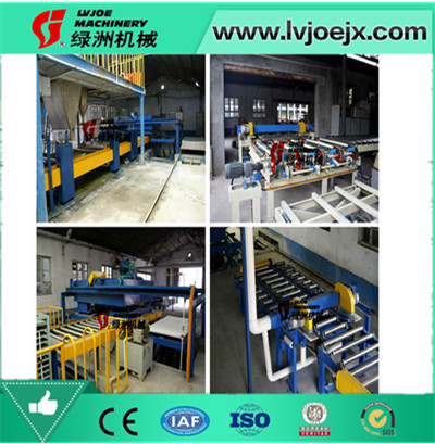 china best quality roof sheet making machine mgo board production line plant