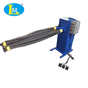 Two Legs Jeans Horizontal Chemistry Machine /Scraping Rubber Legs For Jeans