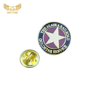 Custom Pin Alloy Metal Russian Badge With Logo And Memento