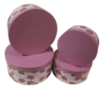 storage cardboard luxury shipping velvet round custom flower hat box