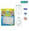 Small style oral dental floss pick / personal dental floss
