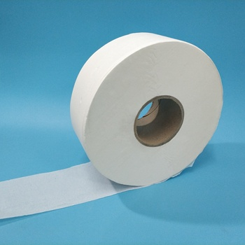 Goedkope 245 meter 2ply mix virgin pulp jumbo roll toiletpapier