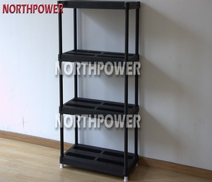 Heavy Duty 36X18 plastic shelving,4 Tire plastic shelf