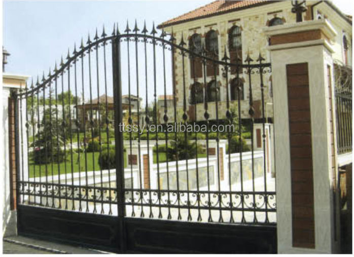 Luxury Wrought Iron Grill Main Gate Design Buy Luxury Wrought Iron