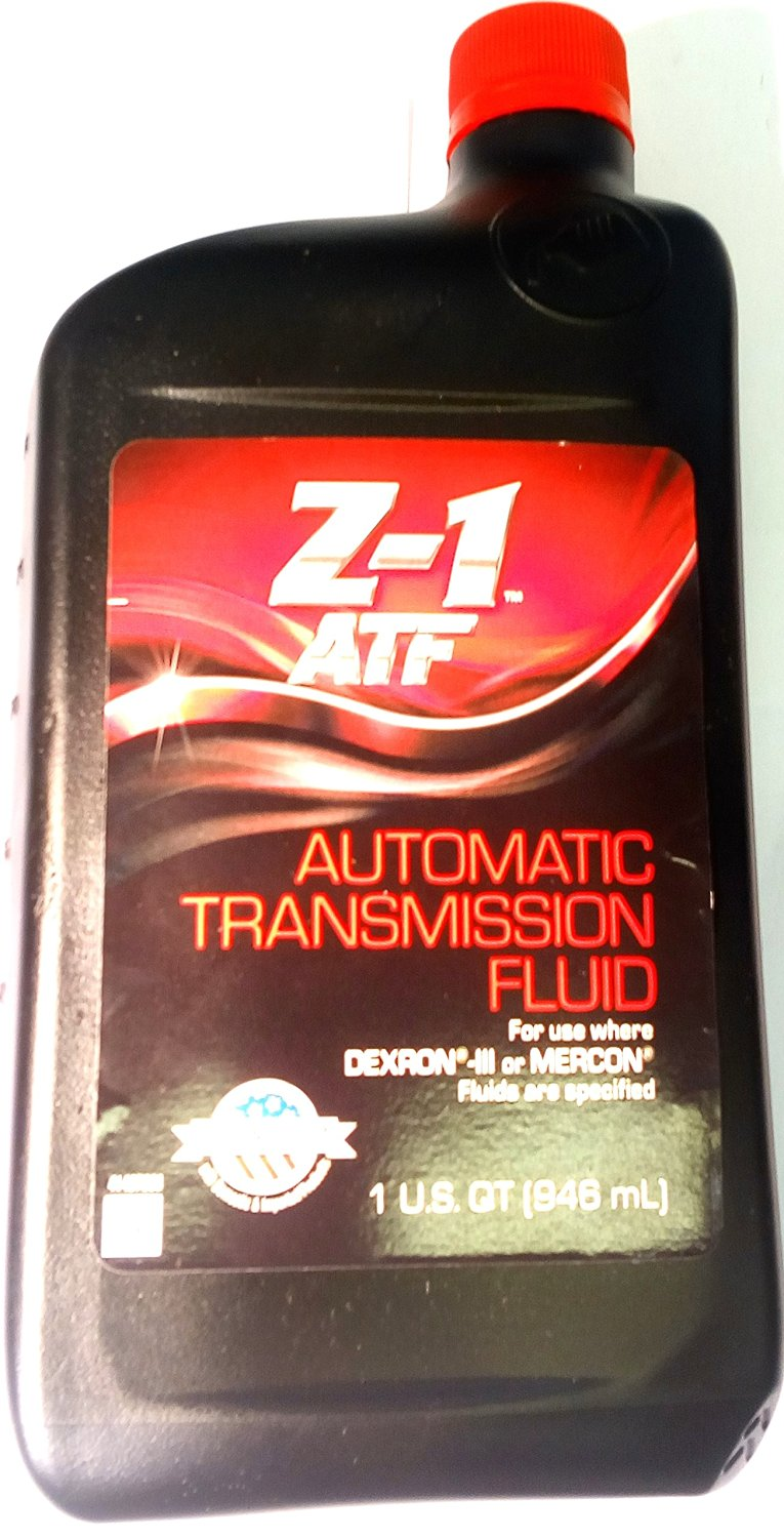 Genuine - Z-1 - Ford, Chrysler - Older Generation - Multi-Purpose Automatic Transmission Fluid - DEXRON III or MERCON Performance - 1 Quart (946 mL) - Bottle (1 Quart ( 946mL))