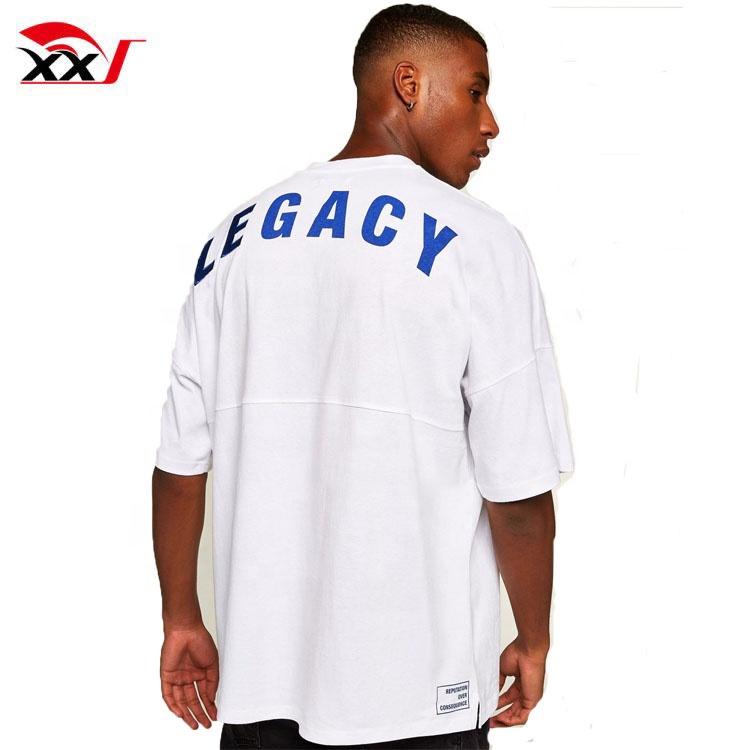Produttori di abbigliamento all'estero mens magliette personalizzate a buon mercato commercio all'ingrosso magliette di estate di grandi dimensioni magliette