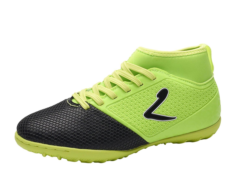 27995edc7 Get Quotations · Larcia Kids  Verde Indoor Soccer Shoe