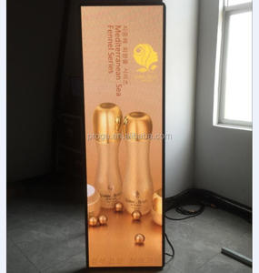 ultra thin light weight high definition indoor full color video/photo advertisement X led screen panel frame