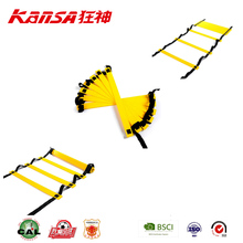 Kansa-3099 Best Sale Durable Sport Football Agility Training Ladder Speed Run Agility Ladder