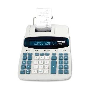 "Victor Technologies 12-Digit Calculator, 2-Color Printing, 8""X11""X2-1/2"", Be - Victor Technologies 12-Digit Calculator, 2-Color Printing, 8""X11""X2-1/2"", Beportable Commercial Series Calculator Featur"