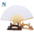 wholesale different color paper bamboo hand fan