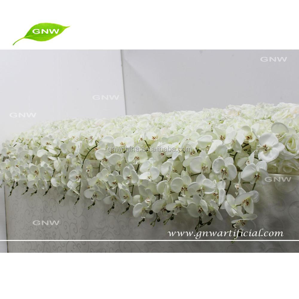 GNW FLW1707011 White Hanging Flower Flower Canopy For Wedding