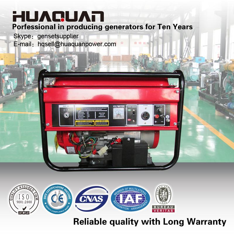 Alterna trif sica de salida tipo de generador de la for Generador gasolina barato