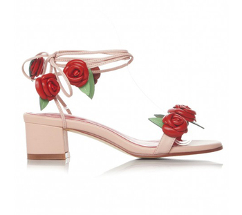 Comfort and fresh style women pink romantic rose flower chunky block comfort and fresh style women pink romantic rose flower chunky block heel tie up sandals mightylinksfo