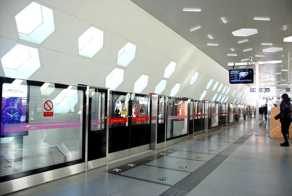 Metro Platform Screen Door System integrated solution for subway and railway safty system