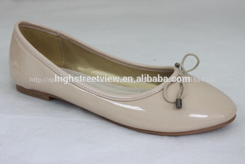 d3ea1e08 2015 de moda y de lujo para damas zapatos de la bailarina de lujo con diseño