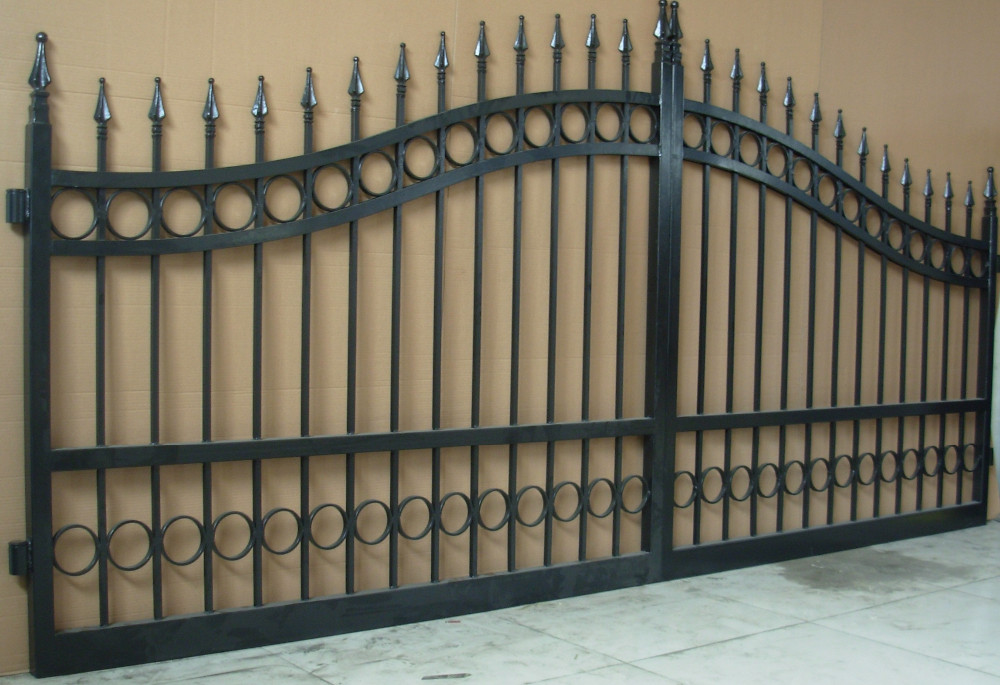 High Quality Modern Simple Wrought Iron Main Gate Designs House