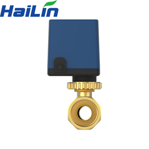 China suppliers actuated brass ball 3 way valve