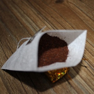 Biodegradable corn small mesh bag for coffee filter