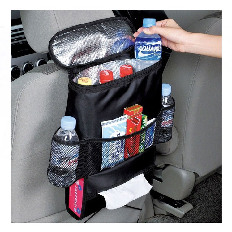 Wholesale backseat car organizer Insulation back seat bag