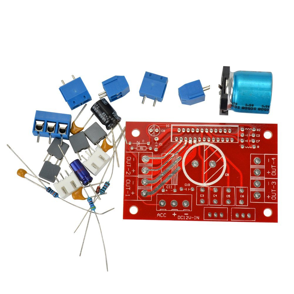 Cheap Amplifier Ic Chip Find Deals On Line At Details Over Lm358n Integrated Circuit Opamp X 10 Pieces Get Quotations Aoshike Board Diy Kits For The Tda7850 Tda7388 Tda7851 Tda7854 Series