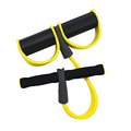 Fitness Resistance Band Rope Pedal Arm Tummy Stretching Rubber Rope Elastic Expander