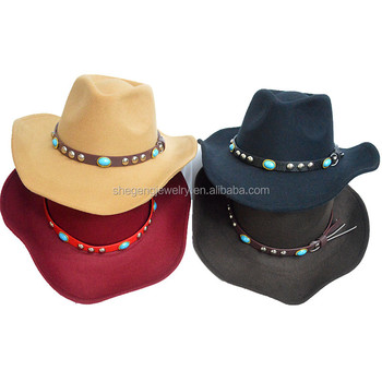 b7a149bfa Faux Wool Felt Crushable Cowboy Hat - Buy Faux Wool Felt Crushable Cowboy  Hat,Men's Crushable Faux Wool Western Cowboy Hat,Bullhide Shapeable Faux ...