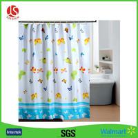 Custom Print Peva Vinyl Shower Curtain liner