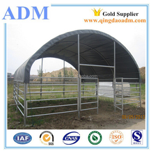 Steel livestock horse cattle animal shelter