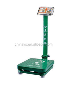 YS - 001 Electronic Digital Platform Scale LED / LCD Display Larger Screen,Super Long Standby Time