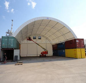 40ft x 20ft high quality steel frame Container Shelter/canopy/tent